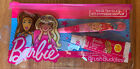 Barbie Brush Buddies toothbrush  toothpaste set with zippered travel pouch