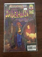 Spectacular Spiderman Variant Cover 1 Revelations 240 Marvel 1996 FREE bag/board