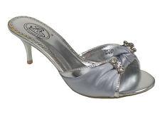 NEW Women's Low heel sandals Slider open back shoes