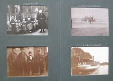 More details for 1914 photograph album holding 48x photos taken mainly in holland & germany