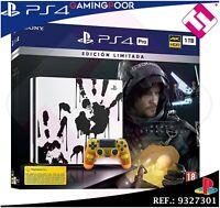 PS4 PLAYSTATION 4 PRO 1TB DEATH STRANDING VIDEOCONSOLA EDICION LIMITADA CUH7216B