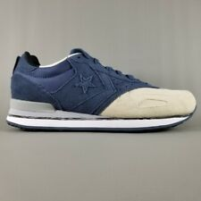 NIB Converse Malden Racer Ox Navy/Natural 144572C US Mens 12