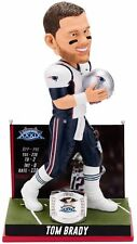 "New England Patriots Tom Brady 3rd Super Bowl Win BobbleHead 10"" NIB 2005"