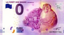 46 ROCAMADOUR La forêt des singes 2, 2018, Billet 0 € Souvenir