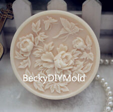 1pcs Flowers Leaves (zx110) Silicone Handmade Soap Mold Crafts DIY Mould
