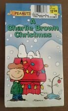 A Charlie Brown Christmas VHS 1997 Slipsleeve Cover NEW Sealed Snoopy Woodstock
