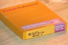 4x 5 Film - Kodak Portra 160 Color (1 Box - 10 Sheets)