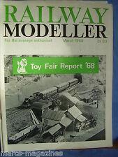 RAILWAY MODELLER MARCH 1968 AMBER CRAGG VALLEY INNERDALE LIGHT BLAKESLEY STATION