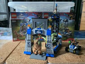 LEGO 75920 JURASSIC WORLD RAPTOR ESCAPE 100% complete With instructions