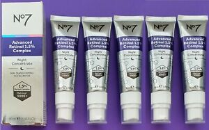 Restore & Renew Compliment With Advanced Retinol 1.5% Night Concentrate 5 x30ml