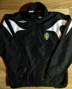 Umbro SVFF Swedish Football Association Mens Track Jacket Football Soccer Sweden