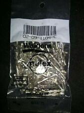 Molex 02 09 1104 Connector Pins Female 093 20 14 Awg 100 Pcs