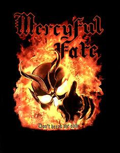 MERCYFUL FATE cd cvr DON'T BREAK THE OATH Official SHIRT SMALL New king diamond
