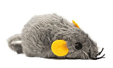 New listing Boss Pet Scruffy's Catnip Large Gray Loveable Mouse Cat Toy
