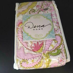 Dena Home Standard Sham Moroccan Garden 100% Cotton NIP NEW