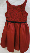 Janie and Jack Holiday Special Occassion Dress, Red, Size 5, Beautiful