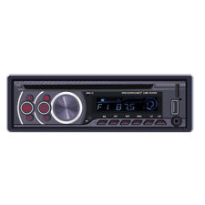 1DIN Bluetooth Car Stereo CD VCD DVD MP3 Player AUX USB FM Radio Remote U Disk