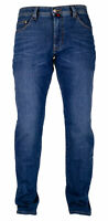 PIERRE CARDIN DEAUVILLE indigo light used Herren Five Pocket Jeans 3196 7319.47