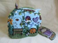 Home is Where you Park It  Fairy Caravan By Nemesis Now  Traveller Caravan