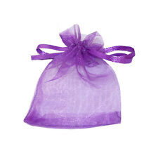 Drawstring organza favor jewellery gift bags Gold/White/Pink/Red/Blue/Beige  Q