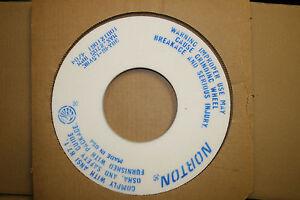 NEW NORTON 12 X 1/2 X 5 ALUNDUM GRINDING WHEEL #69936636612