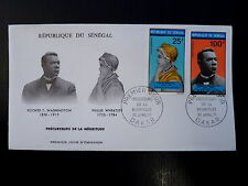 SENEGAL AERIEN 100/103   PREMIER JOUR FDC   WHEATLEY ,BOOKER.W   25+100F    1971