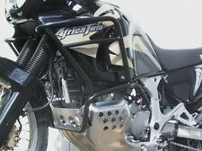 Engine bars, crash bars, black, Honda XRV 750 Africa Twin 1996-03 (RD07)