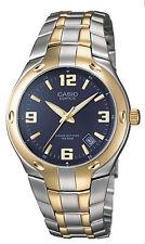 EF106SG-2AV Blue Edifice Watch with a gold metal band