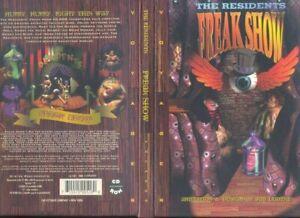 The Residents Freak Show Voyager Cd-Rom animation design Jim Ludtke    R