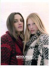 2017 / Vêtements Woolrich / John rich & Bros / publicity / advertising