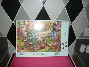 1000 piece jigsaw puzzle hop robins nest