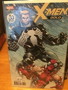 x-men gold #25 30th aniversary var