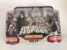 Star Wars Galactic Heroes Emperor Palpatine Shock Trooper 2006