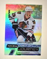 2020-21 UD Synergy Stanley Cup Journey Post-Season #CJ-JT Jonathan Toews /899