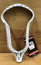 Maverik Kinetik Men's Lacrosse Lax Head Unstrung (Maverick) White Brand New!