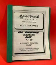 Bendix King KR 86 ADF Installation Manual 006-00084-0004 Rev 4 1993