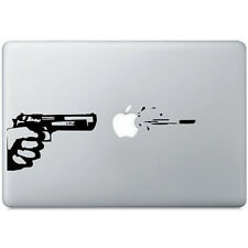 "STICKERS POUR MACBOOK PISTOLET GUN PRO AIR RETINA AUTOCOLLANTS DECAL 13"" POUCES"