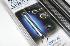 12V Auto-Car Interior Encendedor de Coche Led Azul Malla Acento Luz Tiras
