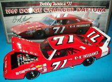 Bobby Isaac 1969 Dodge Charger Daytona  #71 K&K Insurance Wing 426 Hemi 1/24 New