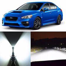 Alla Lighting High Beam Headlight HB3 White LED for 04~17 Subaru Impreza WRX STI