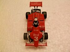 tyco slot car f-1 indy # 3 budwieser,440x2 chassis fast, ho1/64 scale!!