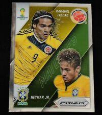 2014 Panini Prizm WC Matchups #20 Neymar Jr. / Radamel Falcao