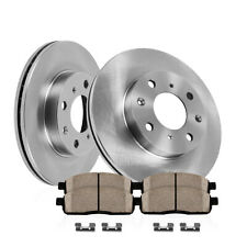 Mirage 2014-2015 Front Brake Disc and Semi Metallic Pads Set Combo