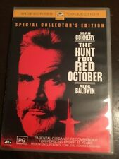 THE HUNT FOR RED OCTOBER Sean Connery Like New DVD R4