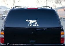 German Shorthaired Pointer vinyl decal,gsp,hunting dog,bird,gun,akc,puppy,lg