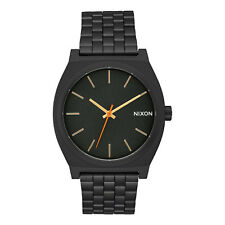 Nixon Orologio Time Teller All Black Surplus 37 mm