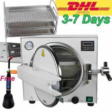 18L Medical Autoclave Steam Sterilizer Dental Sterilizer Equipment+Curing light