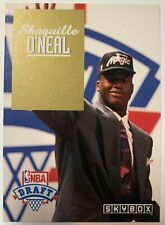 1993 Shaquille O'neal Orlando Magic Skybox NBA Draft Rookie Card DP1 NM MT