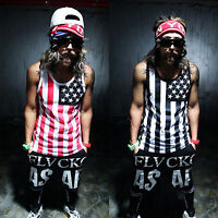 Mens Sleeveless Fitness GYM Tank Tops Sport Muscle Bodybuilding Vest Casual Tee