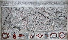 Originaldrucke (bis 1800) aus Bayern mit Landkarten-Motiv